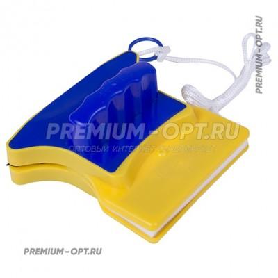 Магнитная щетка для мытья окон Double-sided glass оптом