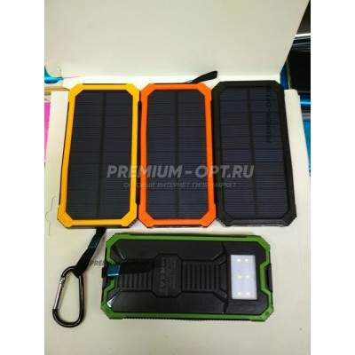 Power Bank на солнечных батареях 20000 mAh Оптом