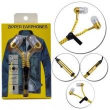 Наушники молния Zipper Earphones оптом