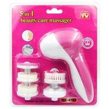 Аппарат для массажа и очистки кожи лица 5 в 1 Beauty Care Massager оптом