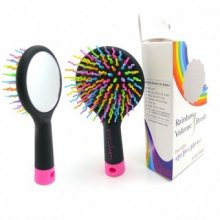 Массажная расческа для придания объема Rainbow Volume S Brush оптом