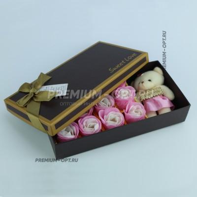 Подарочный набор мыла Sweet Love оптом