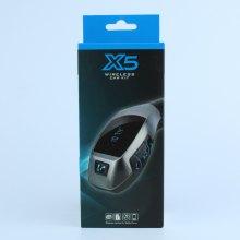 Автомобильный Bluetooth FM модулятор Wireless Car Kit X5 оптом