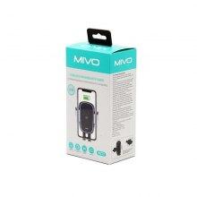 Автомобильный держатель для телефона с беспроводной зарядкой Mivo MZ12 оптом