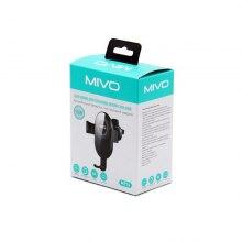 Автомобильный держатель для телефона с беспроводной зарядкой Mivo MZ14 оптом