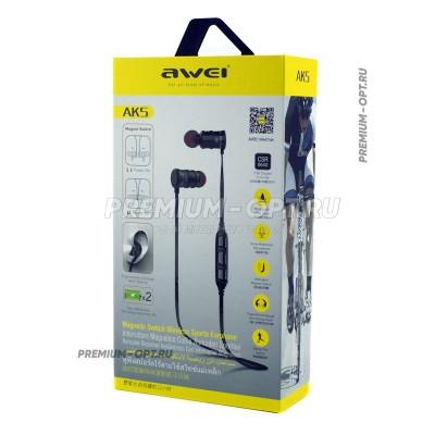 Беспроводные наушники Awei AK5 оптом