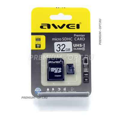 Карта памяти microSD Awei 32gb оптом