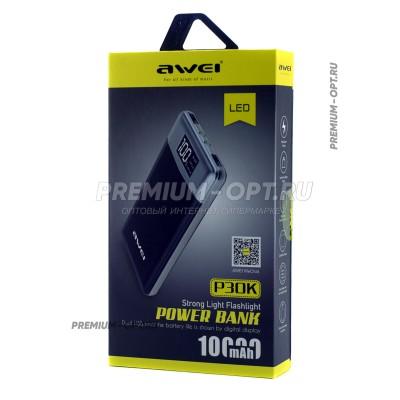 Power Bank Awei P30K 10000Mah оптом