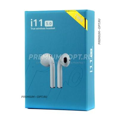 Беспроводные наушники i11 5.0 TWS оптом