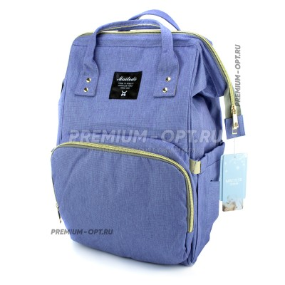 Сумка-рюкзак для мам с USB оптом
