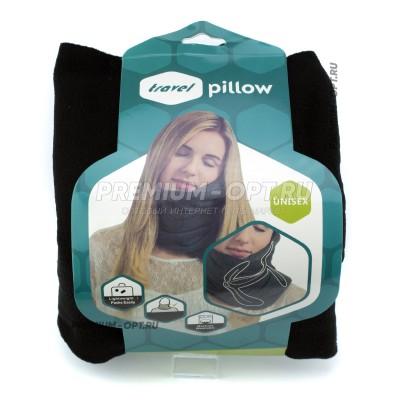 Дорожная подушка с поддержкой шеи Trael Pillow оптом