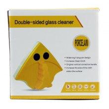 Магнитная щётка для окон Double-side glass cleaner Porcelain оптом