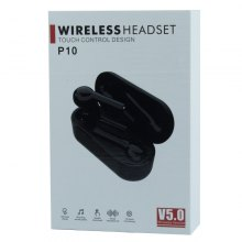 Сенсорные беспроводные наушники Wireless Headset P10 оптом