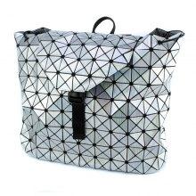 Сумка-рюкзак Хамелеон серебрянный оптом