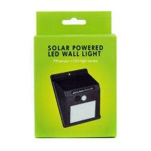 Настенный светильник на солнечной батарее Solar Powered LED Wall Light оптом