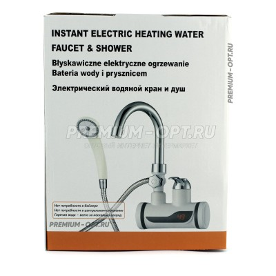 Электрический водонагреватель кран и душ оптом