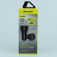 Автомобильное зарядное устройство Awei C822 оптом