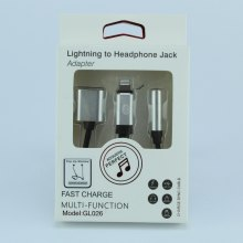 Адаптер Lightning mini-Jack GL026 оптом