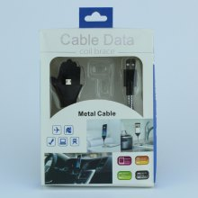 Кабель подставка Micro USB Cable Data Coil Brace оптом