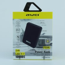 Внешний аккумулятор Power Bank Awei P22K 10000 mAh оптом