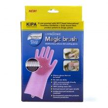 Перчатки для мытья посуды Magic brush оптом