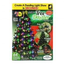 Конусная гирлянда Tree Dazzler 64 лампочки оптом