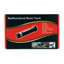 Портативная колонка 4 в 1 Multifunctional music torch оптом