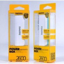 Внешний аккумулятор Remax mini 2600 mAh оптом