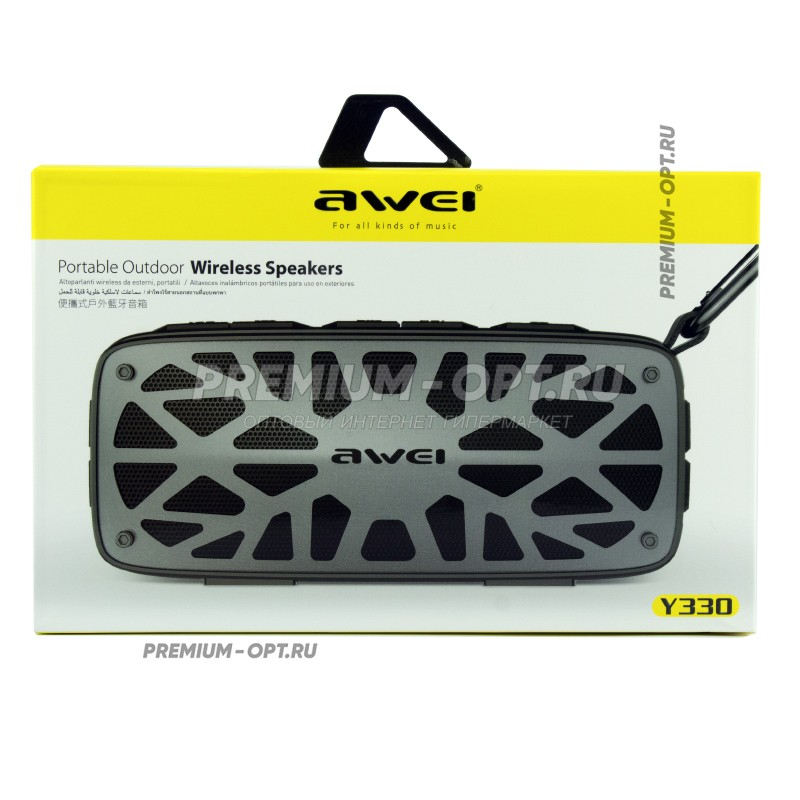 Портативная Bluetooth колонка Awei Y330 Portable  Outdoor Wireless Speaker